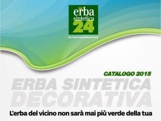 Catalogo erba sintetica decorativa - Erbasintetica24.com