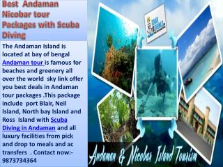 Best Andaman Nicobar Tour Packages With Scuba Diving