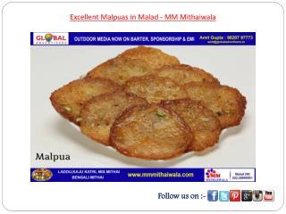 Excellent Malpuas in Malad - MM Mithaiwala