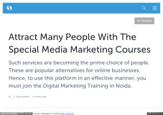 Traininglobe: A Renowned Institute, Providing World Class Digital Marketing Training
