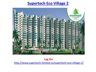 Supertech Eco Village 2-Residential Apartments in Noida Extension