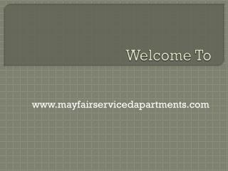 Considerations For Choosing A Serviced Apartments Mayfair