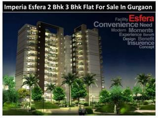 Imperia Esfera 2 Bhk 3 Bhk Flat For Sale In Gurgaon