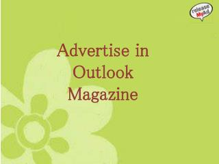 Making advertising easy in the Outlook via releaseMyAd