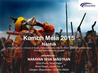 Best accommodation in Nasik kumbh 2015, Nasik