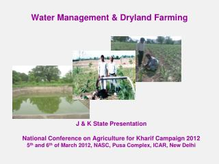 Water Management  Dryland Farming