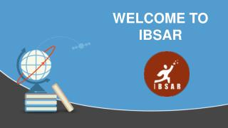 Welcome to IBSAR