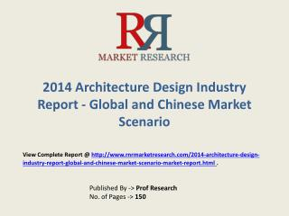 Architecture Design Market Global and Chinese Analysis for 2014-2019