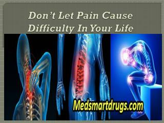 Don't Let Pain Cause Difficulty In Your Life