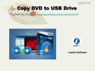 Copy DVD to USB Drive