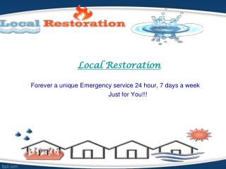 Local Restoration | fire damage restoration