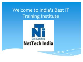: NetTechIndia|IT certification| Software