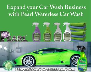 Expand You Car Wash Business With Pearl Waterless Car Wash