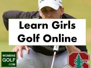Learn Girls Golf Online
