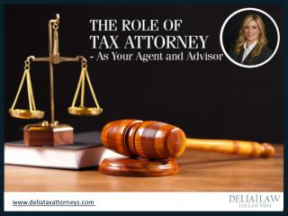 Role of a Tax Attorney in San Diego