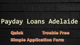 How To Obtain Payday Loans Adelaide Despite Of Having Bad Credit Score
