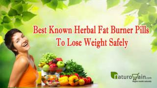 Best Known Herbal Fat Burner Pills To Lose Weight Safely