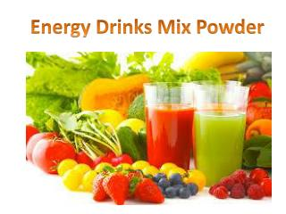 EZ Energy Drinks Mix Powder 300 grams - Natural Berry Flavor