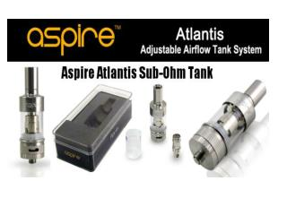 ALTANTIS REPLACEMENT TANK BY ASPIRE