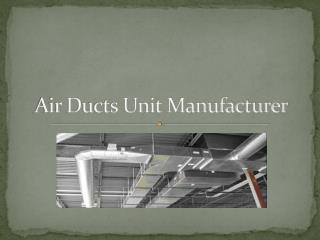 Air Ducts by Wavesairco