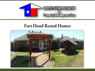 Fort Hood Rental Homes