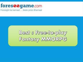 Best 5 Fantasy MMORPG Games You Love to Play