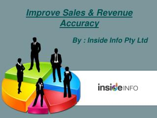 Improve Sales & Revenue Accuracy