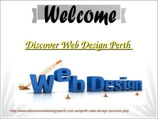 Discover Web Design Perth