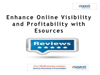 Enhance Online Visibility and Profitability with Esources