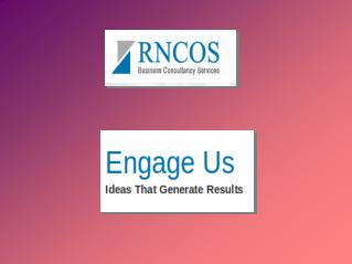 RNCOS Provides Different Market Research Services In India
