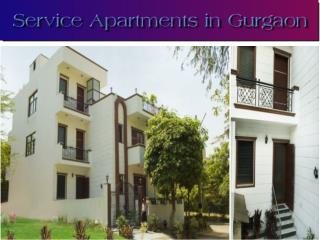 Service Apartments in Gurgaon