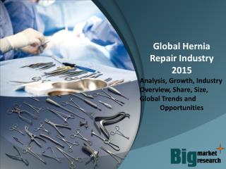 Global Hernia Repair Industry 2015 Market Research Report