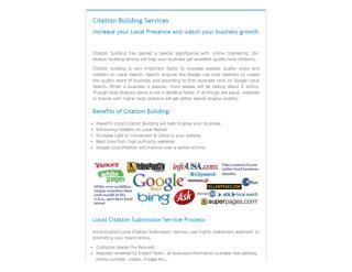 Citation Building Services