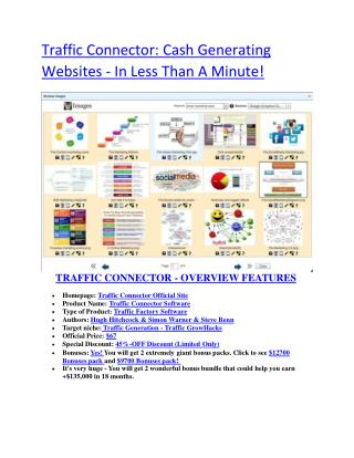 Traffic Connect  software details and 60% discount