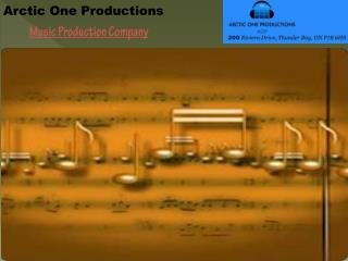 Music Production Company - Arctic One Productions