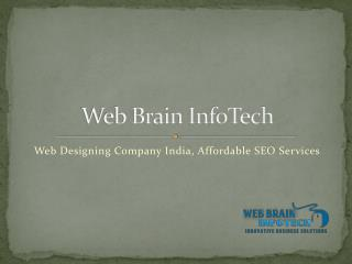 Web Designing Company India, Affordable SEO Services