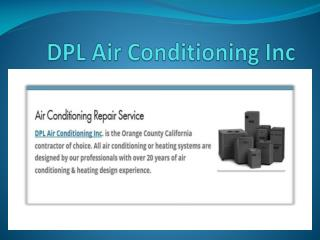 Air Conditioning & Heating Repair in California