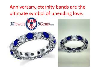 Anniversary and Eternity Bands