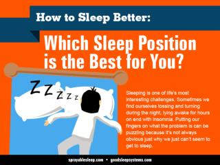 How to Sleep Better: Which Sleep Position  is the Best for You?