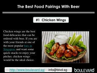 The Best food pairings with Beer