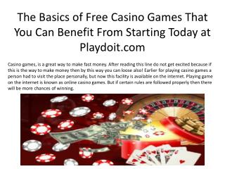 New Ideas Into  Online Casino Games Never Before Revealed