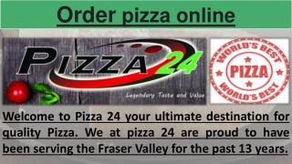 Pizza Abbotsford bc