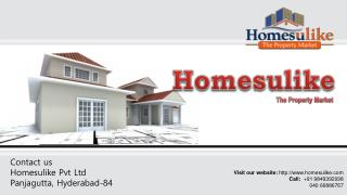 Duplex Houses for sale in Hyderabad on Homesulike