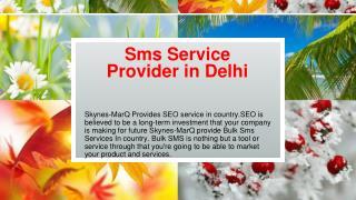 Bulk sms In India skynes-MarQ