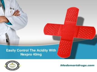 Easily Control The Acidity With Nexpro 40mg