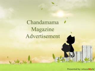 Simplified advertising in Chandamama through releaseMyAd