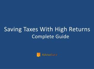 ELSS- tax saving