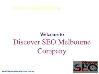 Best SEO & Internet Marketing Company | Discover SEO Melbourne