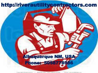 Utilities Contractor, Commercial Plumbing, Water Heater and Faucet Repairs Albuquerque NM