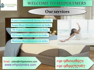 Foam Company & Producer in India